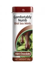 Bonbons pour fellation - menthe chocolat
