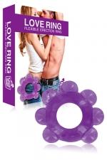 Cockring  Love Ring : Un petit anneau de pénis en caoutchouc pour garder une érection vigoureuse.