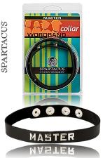 Collier Master Spartacus : Un collier en cuir pour montrer qui est le Maître.