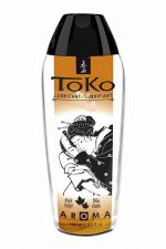 Lubrifiant Toko Aroma - délice d'érable : Lubrifiant intime à base d'eau, aromatisé délice d'érable, pouvant être léché, par Shunga, le spécialiste du plaisir intime.
