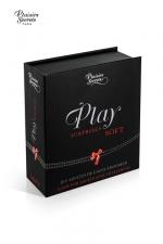 Jeu Play Surprises - Plaisirs Secrets : Coffret de défis et scénarios coquins. Choisissez votre coffret Soft ou Hot, par Plaisirs Secrets.