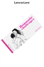 Chéquier Romantic Challenges : 20 Challenges à partager pour des moments très romantiques. Carnet dessiné par Apollonia Saintclair pour Love to Love.