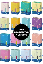 Pack implantation Power Bullet dont 4 offerts