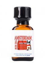 Poppers New Amsterdam 24 ml : The new Amsterdam c'est le nom du nouveau Poppers Amsterdam à base de Nitrite d'Amyl aux effets longue durée.