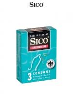 3 préservatifs Sico SPERMICIDE