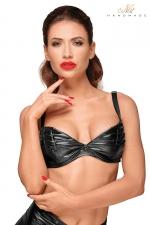 Top bikini F174 : Un top bikini échancré et stylé qui donne du piment à vos tenues sexy.